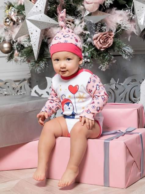 Чепчик КотМарКот, цв. розовый