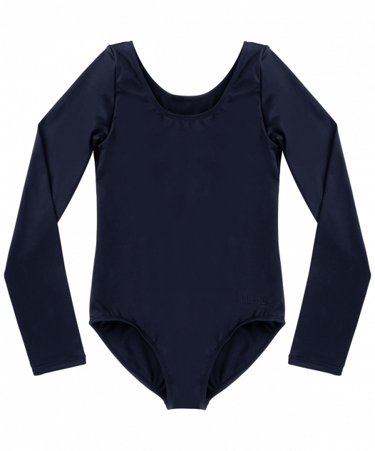 Купальник гимнастический детский Chante, цв. черный