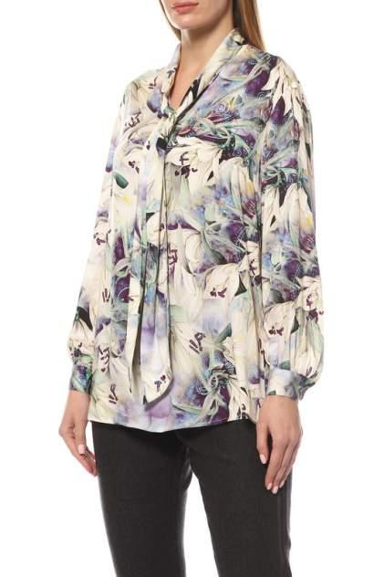 Блуза женская MadamLarimari ЛИЛИИ фиолетовая 46 RU