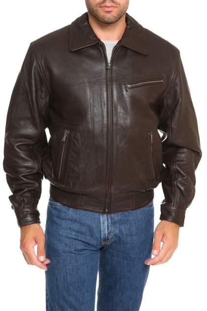 Кожаная куртка мужская NINO 921 коричневая L