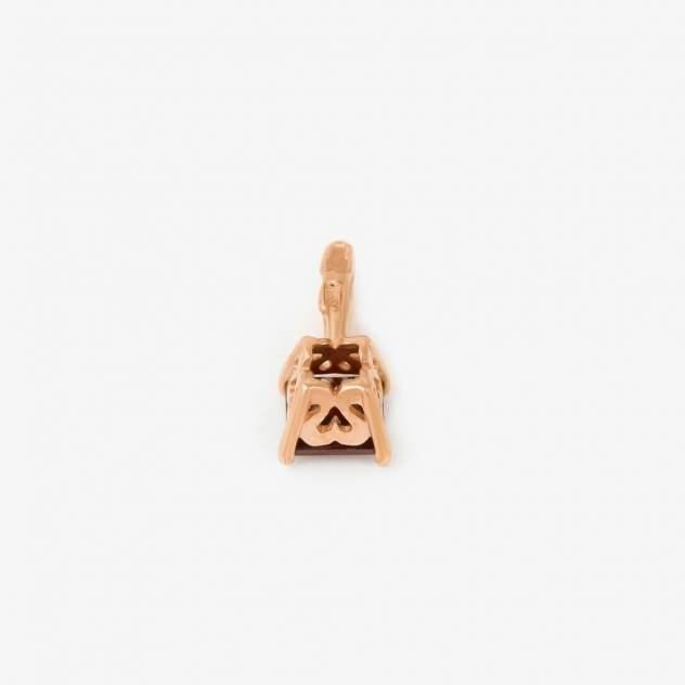 Кулон женский НАШЕ ЗОЛОТО НЮ102000393487гр из золота, гранат