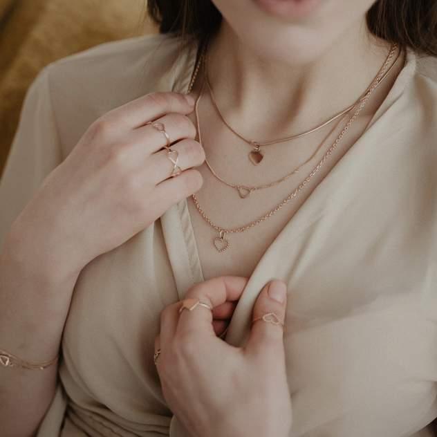 Кулон женский НАШЕ ЗОЛОТО РЫ3780299 из золота