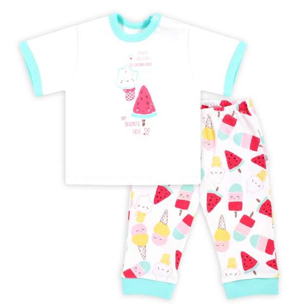 Комплект одежды Веселый малыш, цв. белый