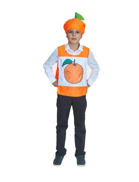 Карнавальный костюм Учитель Фрукт, цв. оранжевый р.134