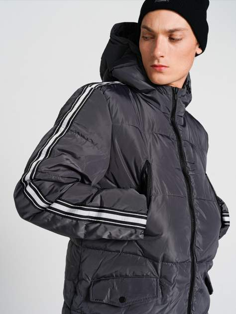 Пуховик-пальто мужской ТВОЕ A6627 серый M