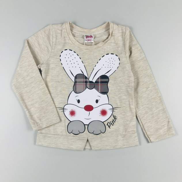 Комплект одежды для девочки Baby Pink Зайка бежевый р.92