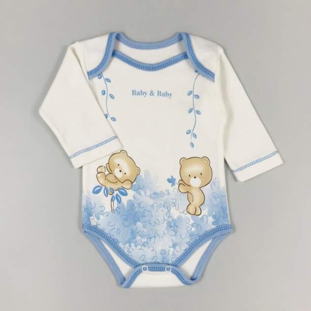 Комплект одежды для малыша BABY&BABY Милые мишки голубой р.62