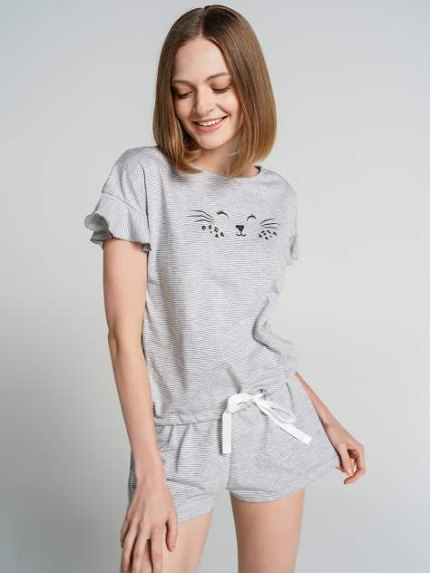 Пижама женская ТВОЕ 71689 серая S