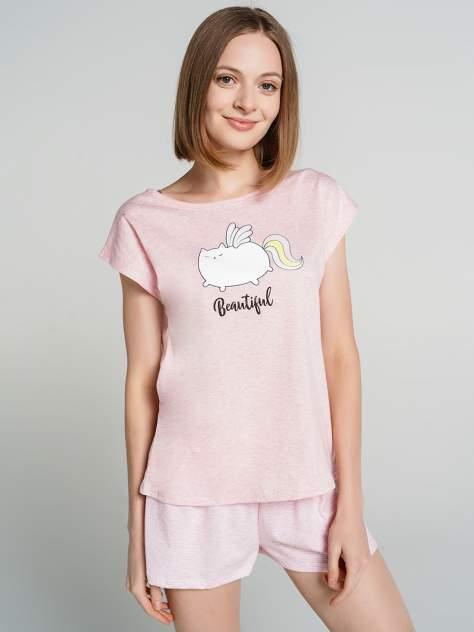 Пижама женская ТВОЕ 75726 розовая XL