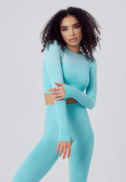 Спортивный топ женский SmithWear 84R5 голубой 48 RU