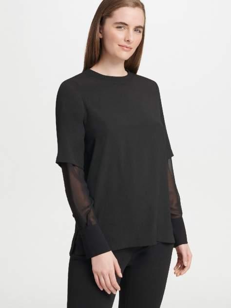 Блуза женская DKNY P9DA7BPM/BLKS черная S