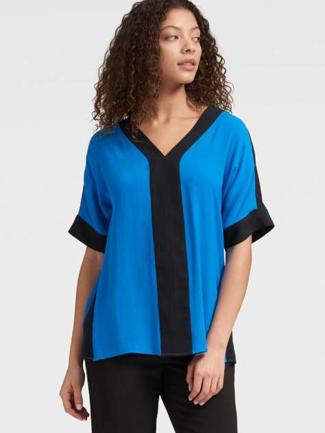 Блуза женская DKNY P9AME483/LGLS синяя S