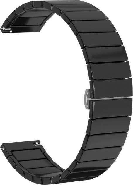 Ремешок для часов GSMIN Ceramic 22 для GearS3/GalaxyWatch(46mm) Черный