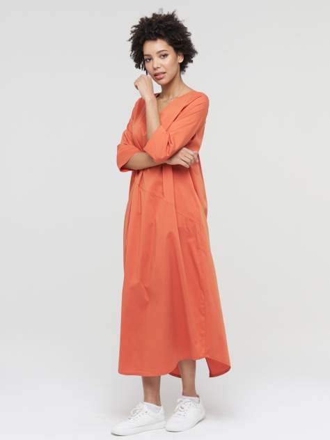 Женское платье VAY 211-3660, оранжевый