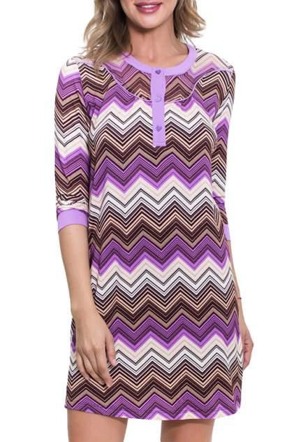 Домашнее платье Penye mood 7617, фиолетовый