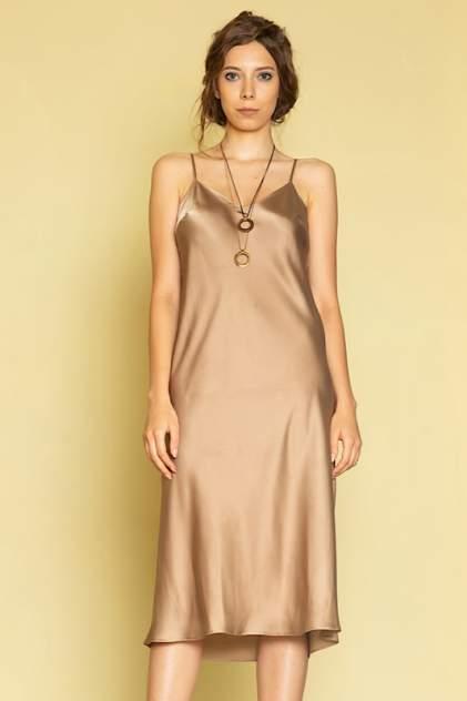 Женское платье ME TODAY METODAY0013, золотистый