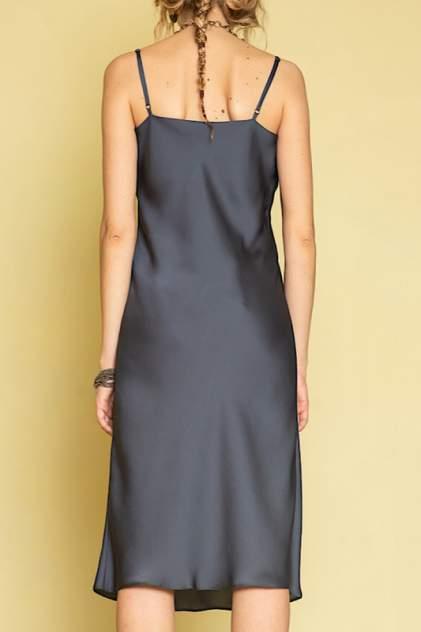Платье женское ME TODAY METODAY0013 синее 44