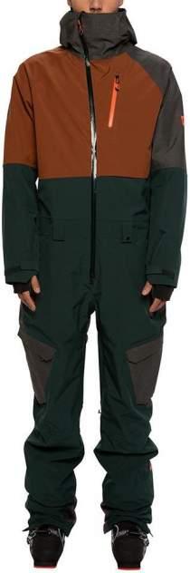 Комбинезон 686 Glcr Hydra Coverall, dark spruce colorblock, L
