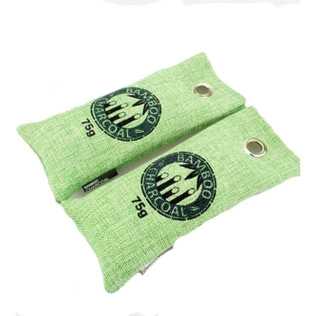 Мешочки с бамбуковым углем против запахов BloomingHome accents. BH-BAM-02 зеленые