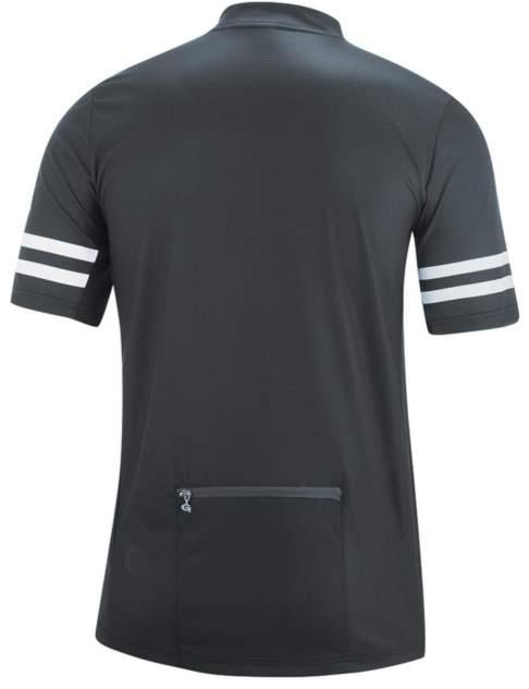 Футболка Gonso Agno He-Bikeshirt-1/2-Fz, graphite, 3XL