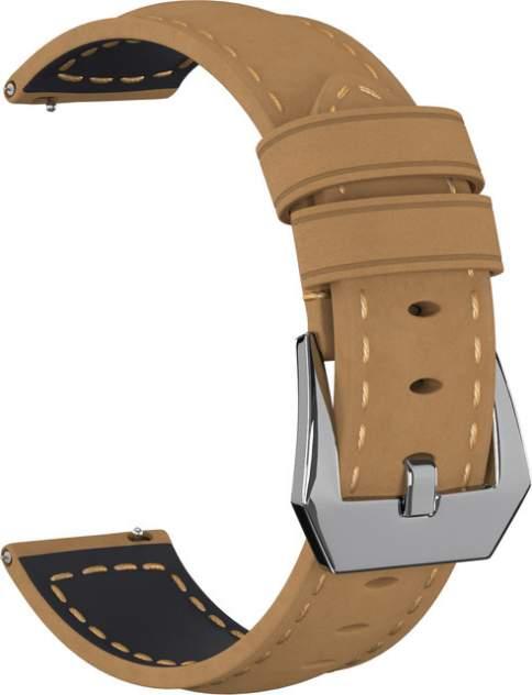 Ремешок для часов GSMIN Suede 2 22 для GearS3/GalaxyWatch(46mm) Светло-коричневый