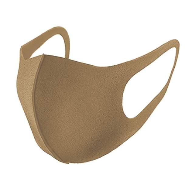 Многоразовая маска унисекс Fashion Mask 106950 бежевая 18х8