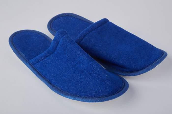Мужские домашние тапочки Hoff SM-504, синий