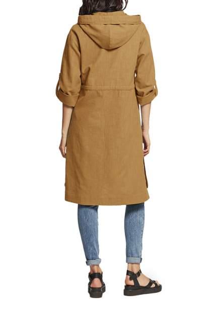 Тренч женский D`imma fashion studio Фира коричневый 42 RU