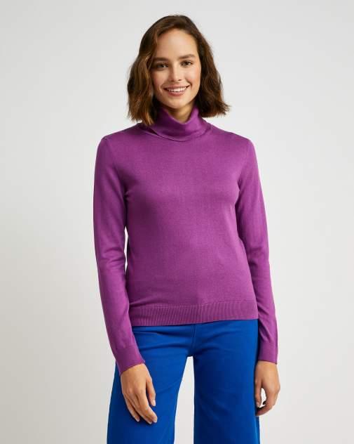 Водолазка женская United Colors of Benetton 20A_102MD2521 фиолетовая XL