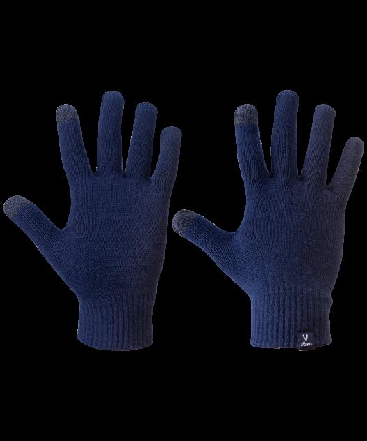 Перчатки унисекс Jögel ESSENTIAL Touch Gloves синие L