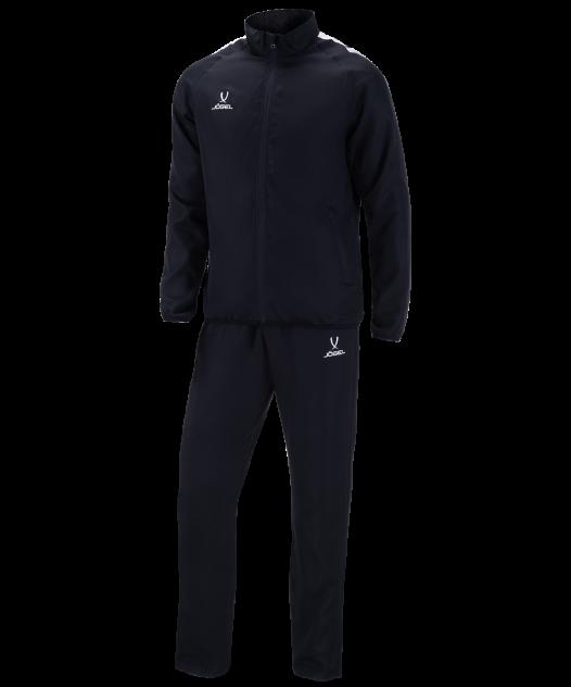 Костюм спортивный Jögel CAMP Lined Suit черно-белый YS