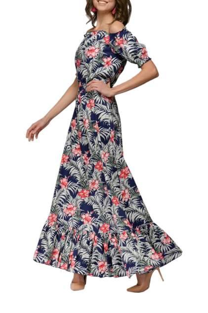 Женское платье 1001dress DM01149FL, синий