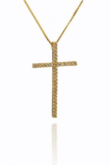 Цепочка с большим золотым крестиком Daroni 1504_0042