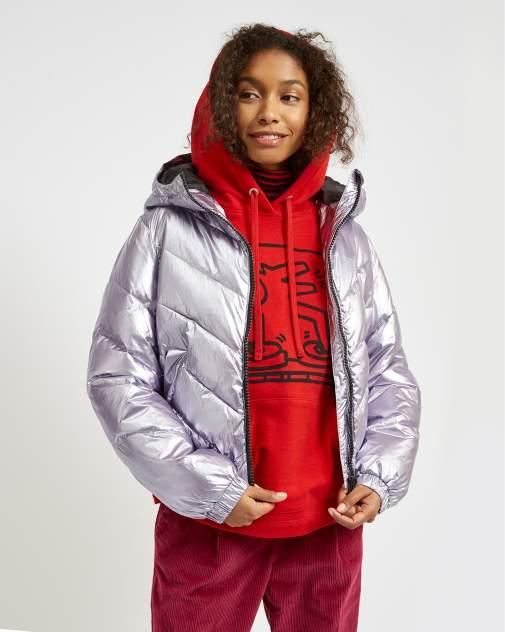 Куртка женская United Colors of Benetton 20A_2SOM536H5 серая 42