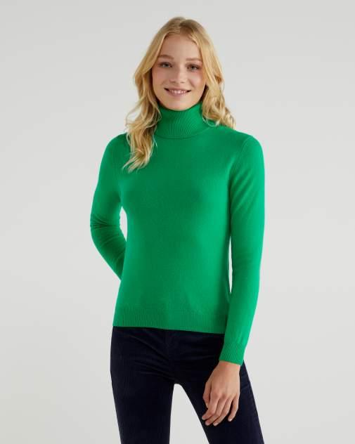 Водолазка женская United Colors of Benetton 20A_1002D2348 зеленая L