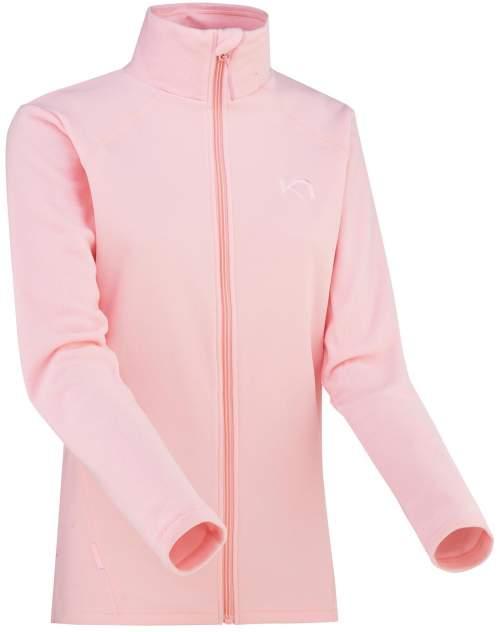 Толстовка Karri Traa Kari Fz, розовый