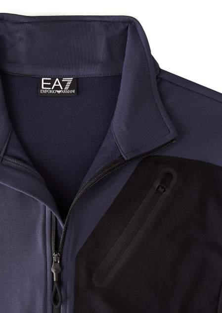 Толстовка мужская EA7 Ski M T-Top 2, синий