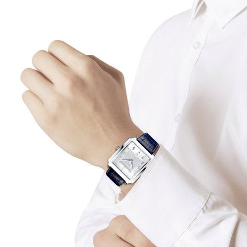 Наручные часы мужские из серебра  SOKOLOV 134.30.00.000.03.02.3