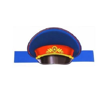 Маска-ободок Сфера Фуражка полицейского