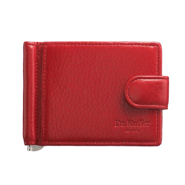 Зажим для денег женский Dr.Koffer X510199-01 красный
