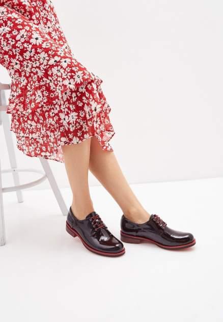 Полуботинки женские Pierre Cardin 113326, бордовый