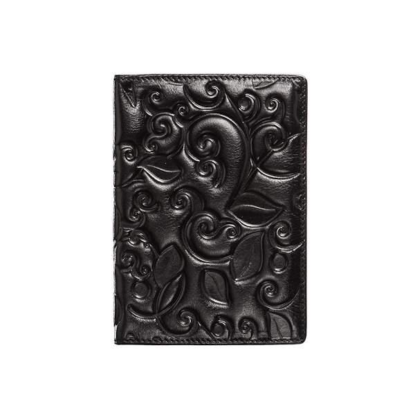 Обложка для паспорта Dr.Koffer X510130-119 черная