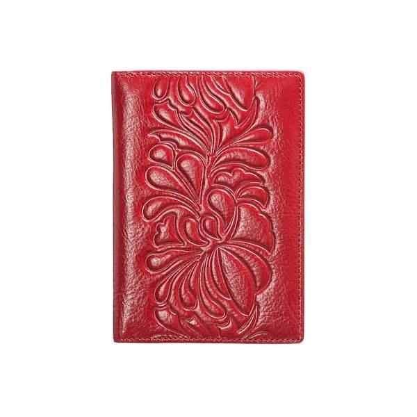 Обложка для паспорта Dr.Koffer X510130-117 красная