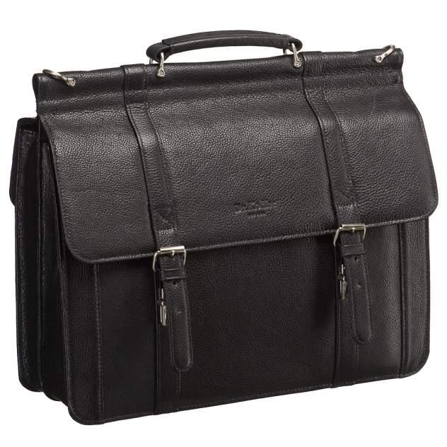Портфель мужской Dr.Koffer P247540-02 черный