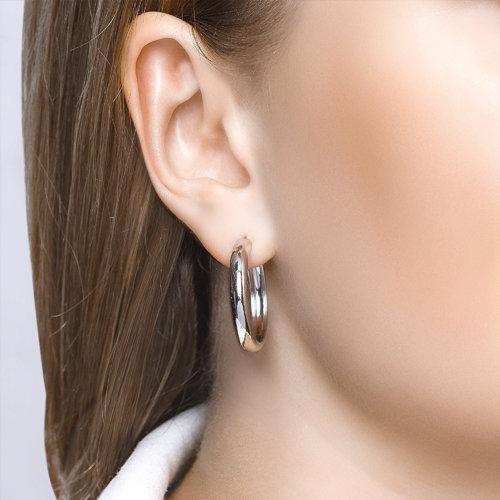 Серьги женские из серебра SOKOLOV 94140010