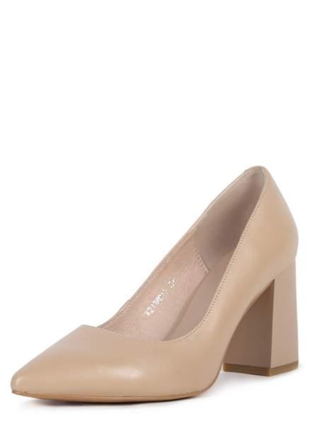 Туфли женские Pierre Cardin JX20S-1591A бежевые 35 RU