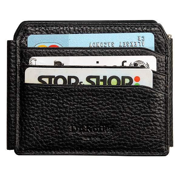Зажим для денег мужской Dr.Koffer X510238-02 черный
