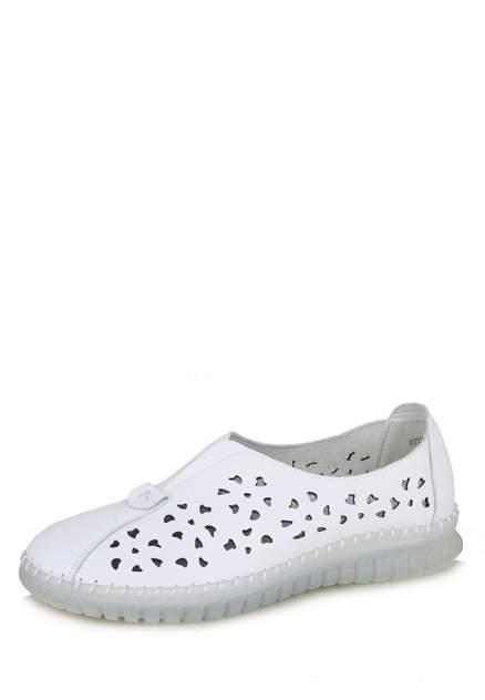Эспадрильи женские Alessio Nesca Comfort 112759, белый