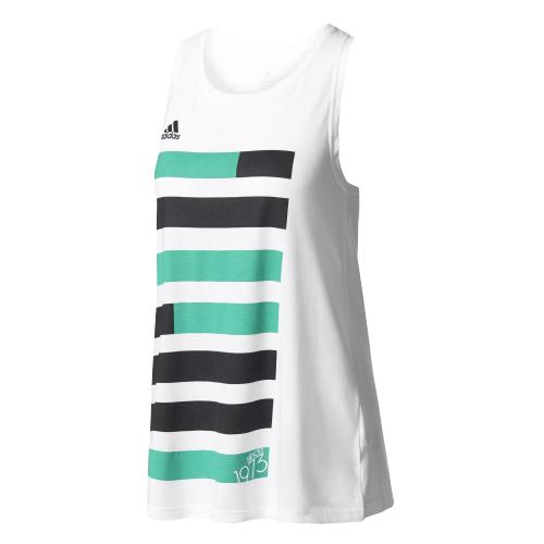 Майка женская Adidas S99186, зеленый