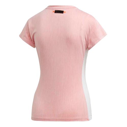 Футболка Adidas DZ2384, розовый/белый, XS INT